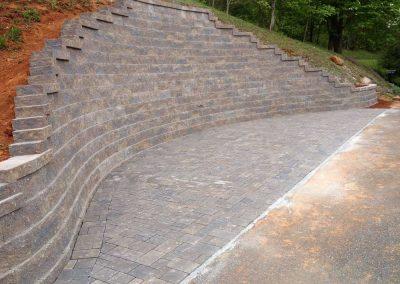 Belgard Retaining Walls - Anchor Diamond Pro Carriage House