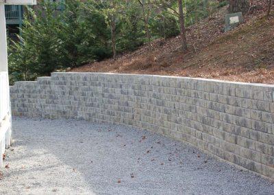 Belgard Retaining Walls - Anchor Diamond Pro Oxford Charcoal