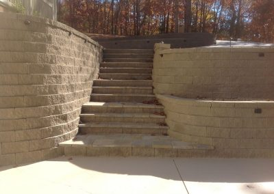 Belgard Retaining Walls - Anchor Diamond Pro Taupe