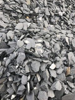 Decorative Gravel and Mulch - Slate Chips