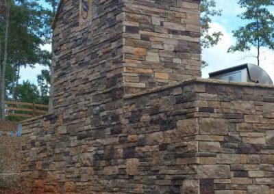 Manufactured Stone - Centurion Stone & the style is Ledge Stone
