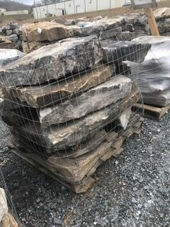 Natural Stone - Fieldstone Steps Small