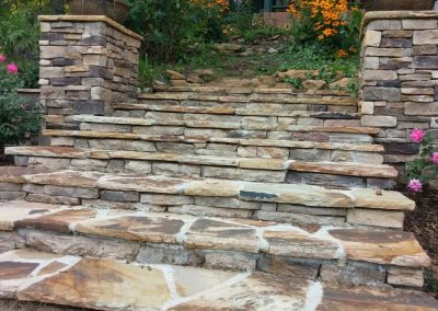 Natural Stone - Flagstone Steps
